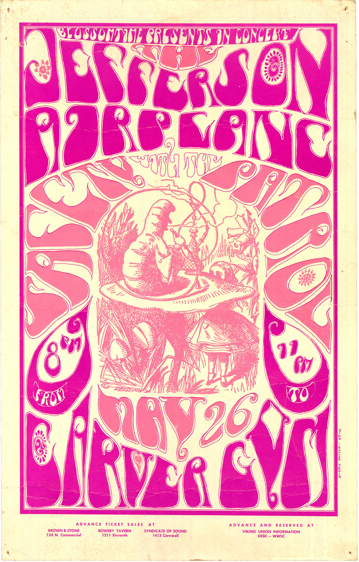 Jefferson Airplane Carver Gym – Family Dog Poster Gallery